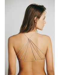 Free People - Strappy Back Bra By Intimately - Lyst