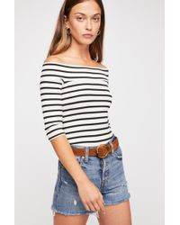 Free People - We The Free Iris Off-the-shoulder Top - Lyst