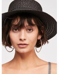 Free People - Hidden Hills Boater Hat - Lyst