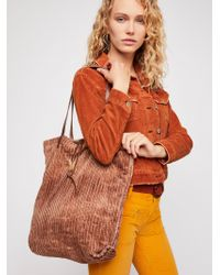 Free People - We The Free Corduroy Washed Tote - Lyst