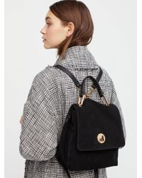 Free People | Century Suede Backpack | Lyst