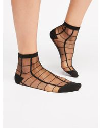 Free People - Linear Sheer Anklet - Lyst