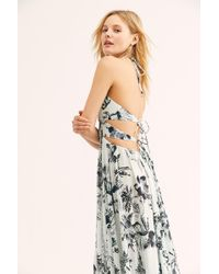 7e65003048 Free People - Lille Printed Maxi Dress - Lyst