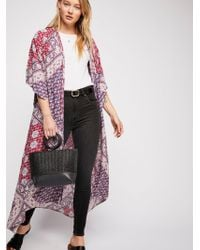 Free People - Wander Free Robe - Lyst