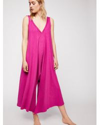 Free People - Jump Up Playsuit - Lyst