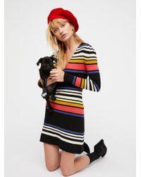 Free People - Gidget Jumper Mini Dress - Lyst