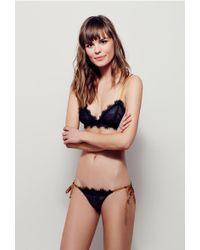 Free People - Bedroom Eyes Tie Bikini - Lyst