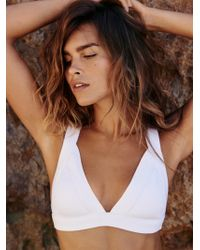 Free People | The Delta Rib Bikini Top | Lyst