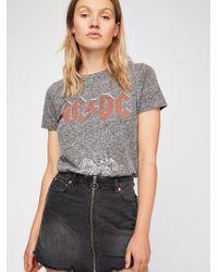 Free People - Zip It Up Mini Skirt - Lyst