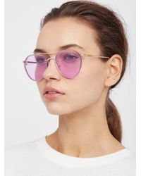 Free People - Living In Colour Aviator - Lyst