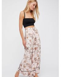 Free People | Bali Wildflower Pant | Lyst