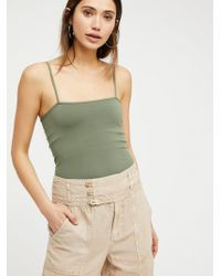 Free People - Simply Square Neck Cami By Intimately - Lyst