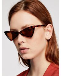 Free People - Hasta La Vista Sunglasses - Lyst