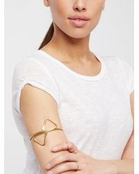 Free People - Metal Upper Armband - Lyst