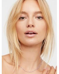 Free People | Essential Stone Necklace | Lyst