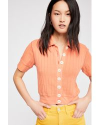 Free People - Lily Top By Fp Beach - Lyst