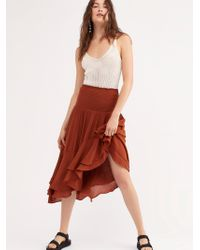 Free People - Going Coastal Convertible Skirt By Endless Summer - Lyst