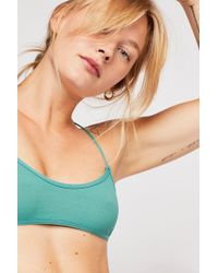 6d1ae0a421 Lyst - Free People Prism Strappy Bra By Intimately in Green