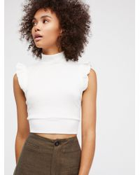 Free People | The Betsey Crop | Lyst