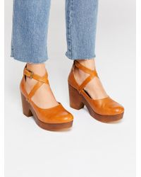 Free People - Buena Vista Clog - Lyst