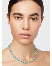 Free People - Raw Stone Necklace - Lyst