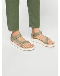 Free People Midform Universal Geometric Teva Sandal