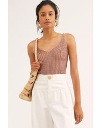 Free People - Gold Coast Bodysuit By Intimately - Lyst