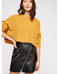 Free People - Club Fit Skirt - Lyst