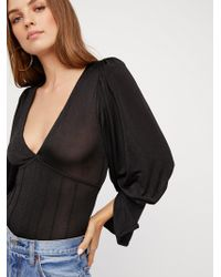 Free People - Killer Queen Top - Lyst