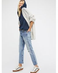 Free People - Levi's 517 Cropped Boot Cut Jeans By Levi's - Lyst