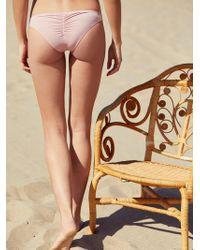 Free People - Island Hop Bikini Bottom Island Hop Bikini Top - Lyst