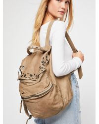 Free People - Pistoia Distressed Backpack - Lyst