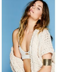 Free People - Chainmail Lace-up Armband - Lyst