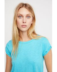 Free People - We The Free Clare Tee - Lyst
