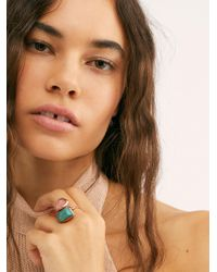 Free People - Canyon Stone Ring By Ouroboros - Lyst