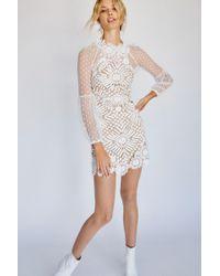 Free People Presley Mini Dress By Saylor