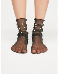Free People - Dreamy Sheer Anklet - Lyst
