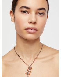 Free People | Washed Ashore Ladder Necklace | Lyst