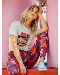 Free People - Stones Around The World Tee - Lyst