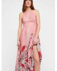 Free People - Embrace It Maxi Dress By Intimately - Lyst