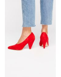 Free People - Minnie Heel By Silent D - Lyst