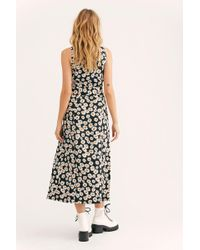 6e5f5246c1 Lyst - Madewell Pintuck Cami Dress In Fresh Strawberries in Black