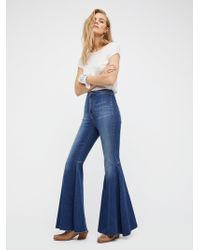 Free People - Just Float On Flare Jeans - Lyst