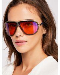 Free People - Carrera Americana Sunglasses - Lyst