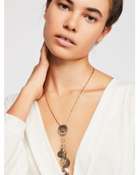 Free People - Lasso Lariat Necklace - Lyst