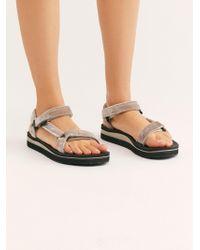 66b786ec2cce Free People - Midform Universal Holiday Sandal By Teva - Lyst