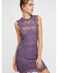Free People - Daydream Bodycon Slip By Intimately - Lyst