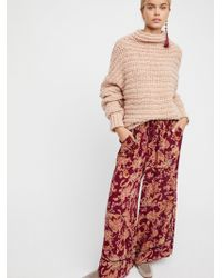 Free People - Bali Wildflower Pant By Intimately - Lyst