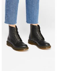 Free People - Dr. Martens 1460 Pascal Front Zip - Lyst