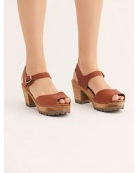 Free People - Greta Clog By Mia Shoes - Lyst